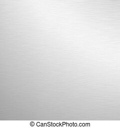 Silver background - Silver metal plate. An ingot