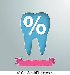 Silver Background Tooth Hole Percent