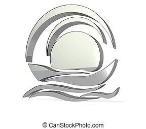 Silver Boat logo - Silver Boat icon