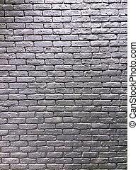 Silver brick wall background