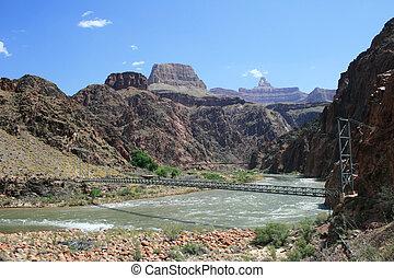 silver bridge, Grand Canyon