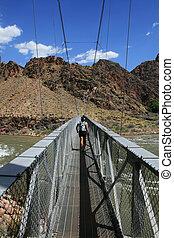 silver bridge hiker