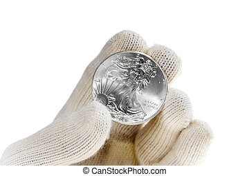 Silver bullion coin investment, American Eagle