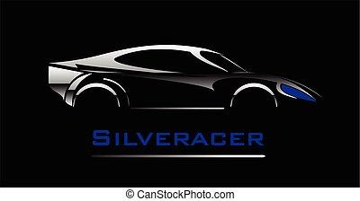 car. Elegant car illustration.
