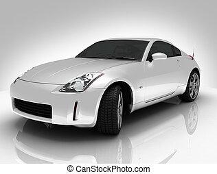 silver car light background - silver car light background