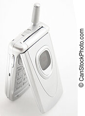 Silver Cellular phone