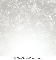 silver christmas snowflake background 1111