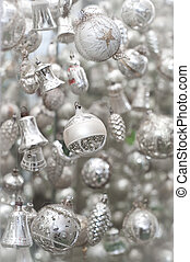 Silver Christmas Tree Decoration