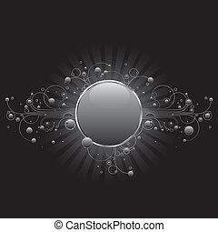 Silver Circle Shield