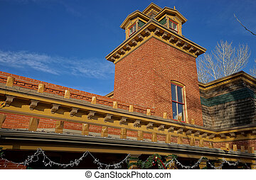 the museum building in silver city new mexico usa