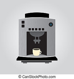 silver coffeemaker espresso machine eps10