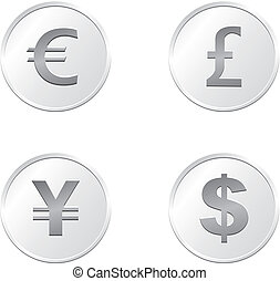 silver coin currency