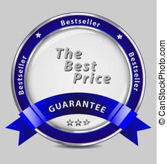Silver guarantee label