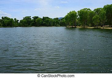 Silver Lake near Cottonwood north central Arizona