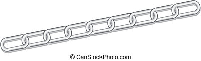 silver link chains