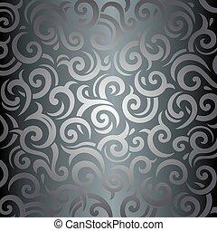 Silver luxury vintage wallpaper 3.eps