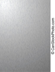 Brushed silver metal aluminum background with grain