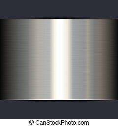 Silver Metal Shine Texture Background. Vector