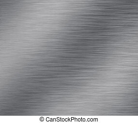 Silver Metal Surface.