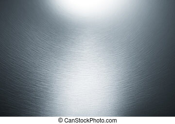 curve and textured silver metallic metal as background