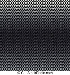 Silver metallic grid background. RGB EPS 10 vector illustration