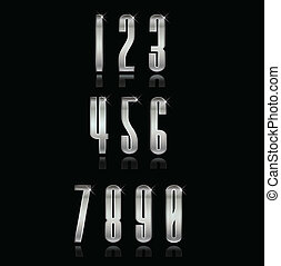 Silver numbers group set.