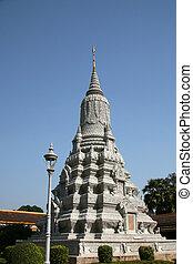 Silver Pagoda, Phnom Penh, Cambodia