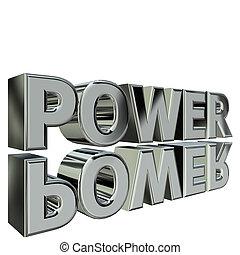 Silver Power 3d