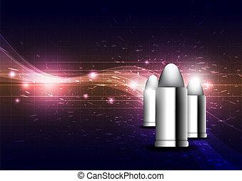 silver projektil