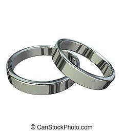 silver, ringer
