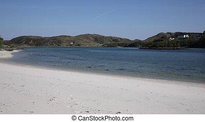 Silver Sands of Morar white sandy - Silver Sands of Morar...