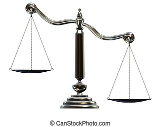 silver scale - 3d rendered illustration of an isolated scale