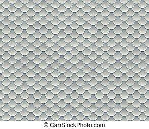 Silver scale pattern