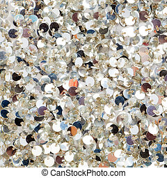 Silver sequins texture - Silver sequins pattern texture...