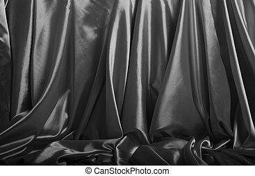 Silver silk background