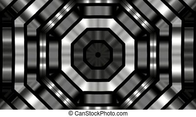 Silver square metal background,game