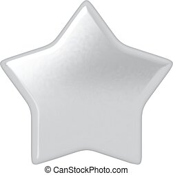 Silver star.