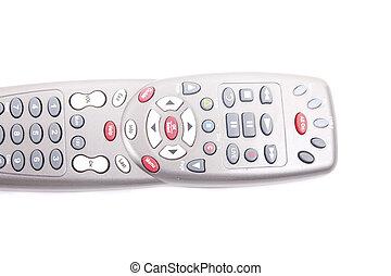 Silver Universal Remote Control