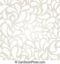 Silver vintage seamless wallpaper. EPS 10 vector illustration.