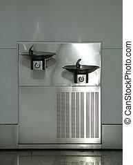 silver water cooler - water cooler