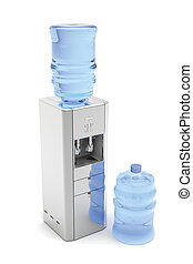 Silver water dispenser