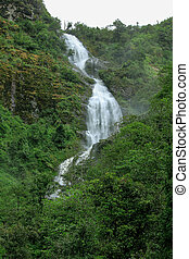 Silver Water Fall in Sapa