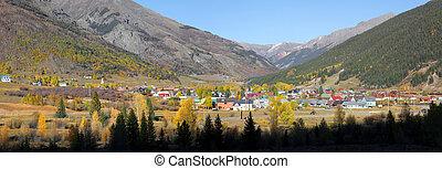Silverton, Colorado - SILVERTON, COLORADO -OCTOBER 5:...