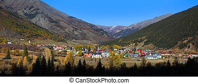 Silverton, Colorado - SILVERTON,COLORADO -OCTOBER 5:...