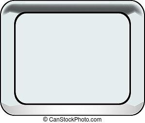 Silverware tray rectangular flow
