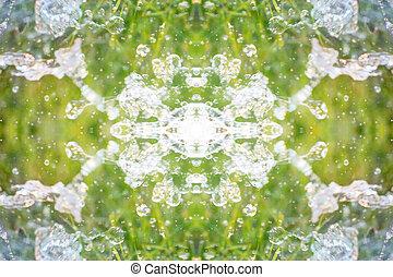 simétrico, Extracto, patrón