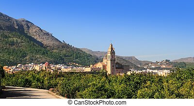 Simat de Valldigna village and Monasterio Santa Maria - ...
