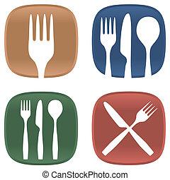 simboli, cenando