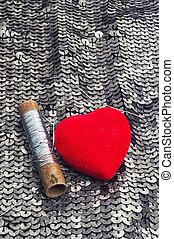 simboli, di, amore, giorno valentines