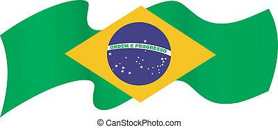 simboli, di, brasile